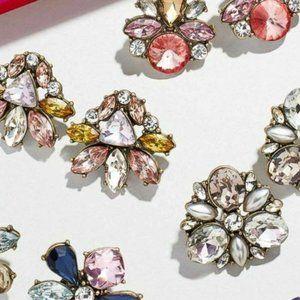 NIB! BAUBLEBAR 4 Pairs Gem Stud Earrings Gift Set